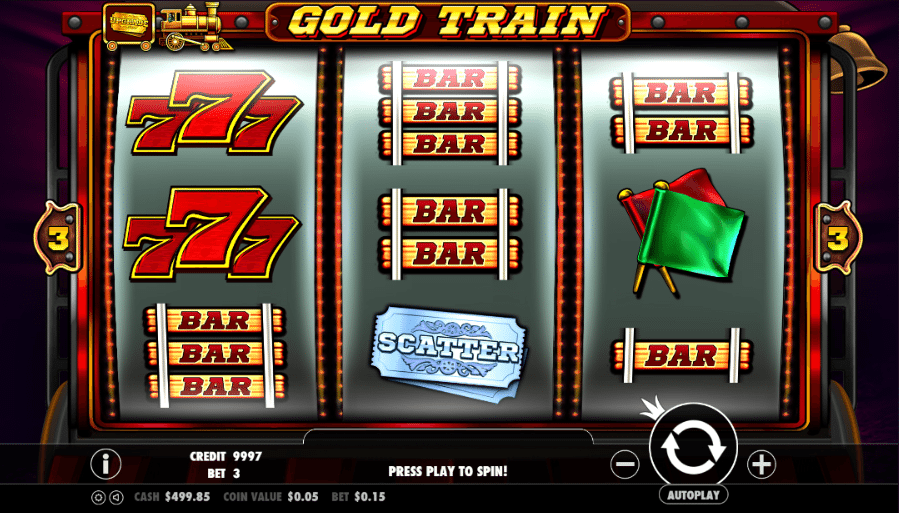 gold train online game slots