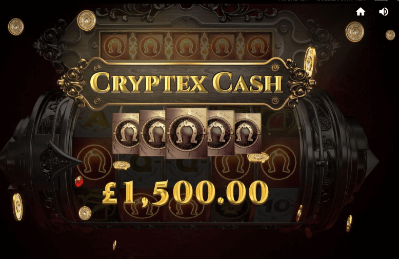 Golden Cryptex Slot Bonus