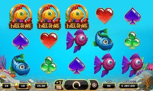 Golden Fish Tank Slot Gameplay