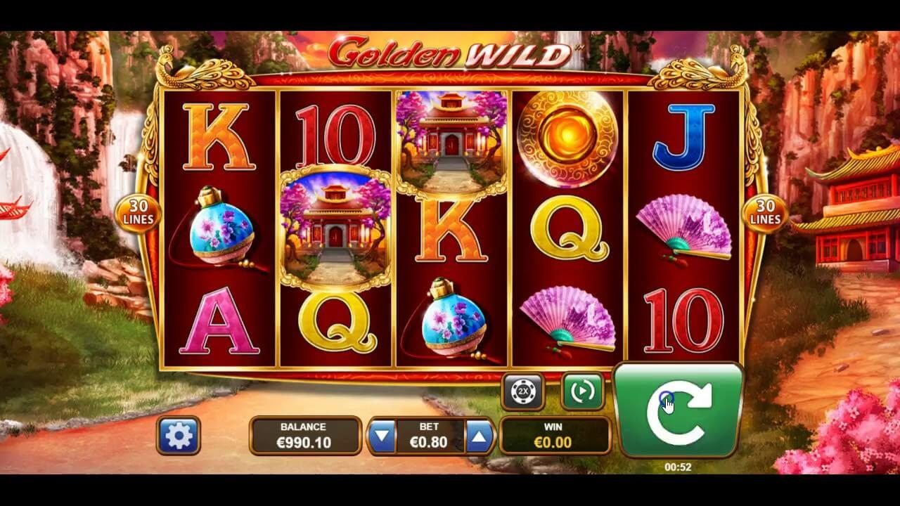 Golden Wild Slot Bonus