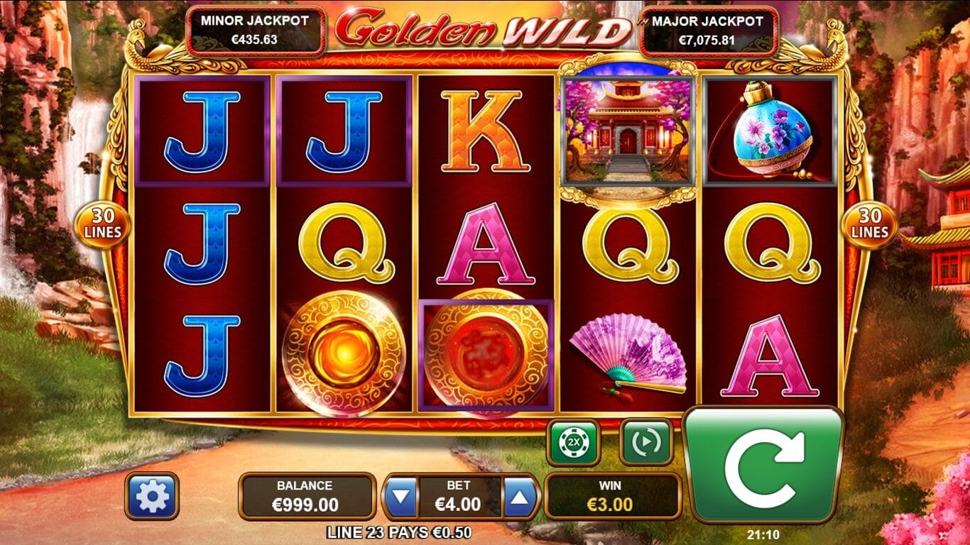 Golden Wild Slot Gameplay