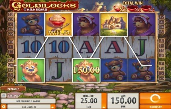 Goldilocks Slot Gameplay