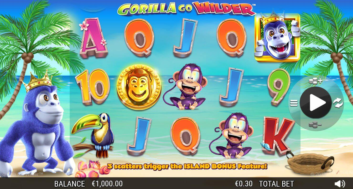 Gorilla Go Wilder Slot Gameplay