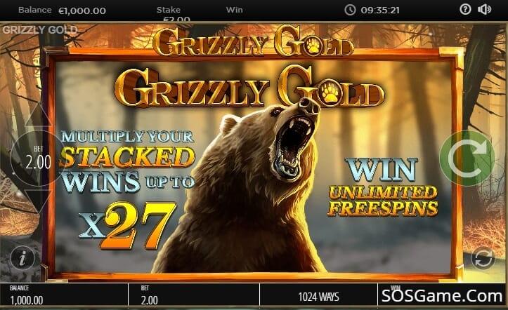 Grizzly Gold Slot Bonus