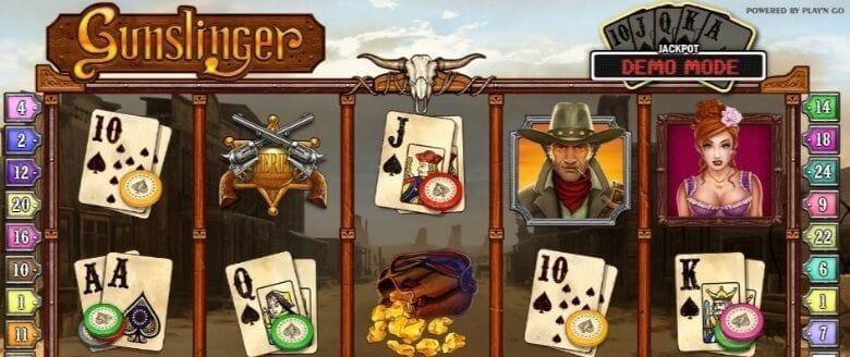Gunslinger Slot Gameplay