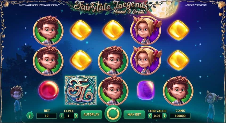 Hansel and Gretel Slot Gameplay