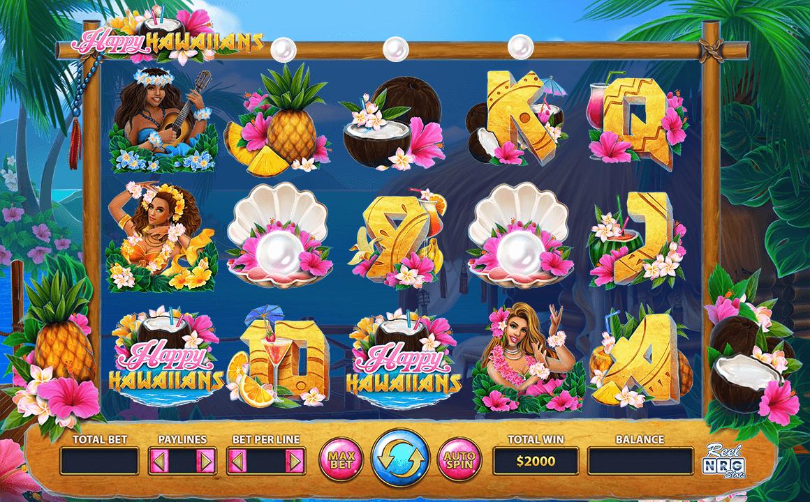 Happy Hawaiians Slot Bonus