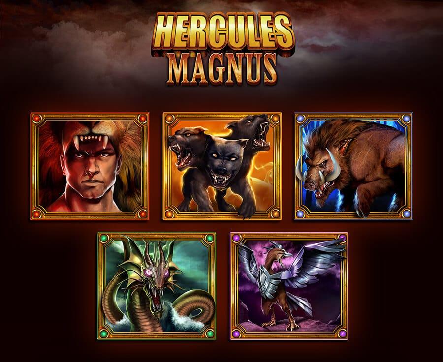 Hercules Magnus Slot Bonus