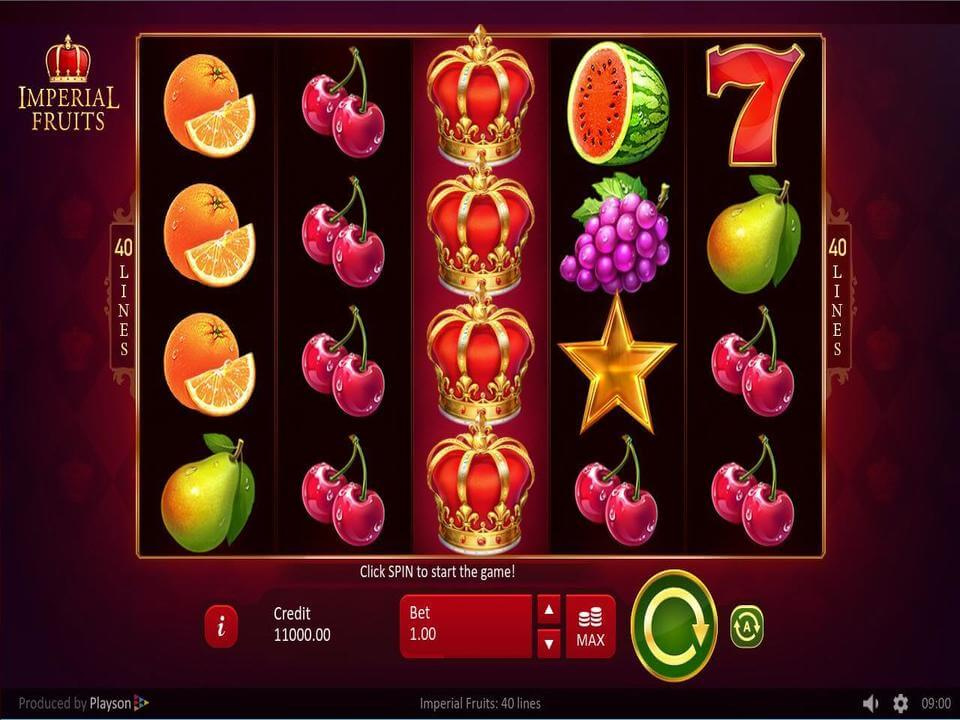 Imperial Fruits Slot Gameplay