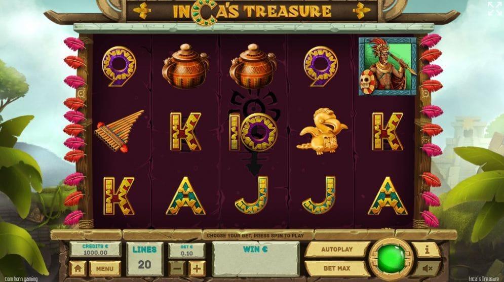 Inca's Treasure Slot Gameplay