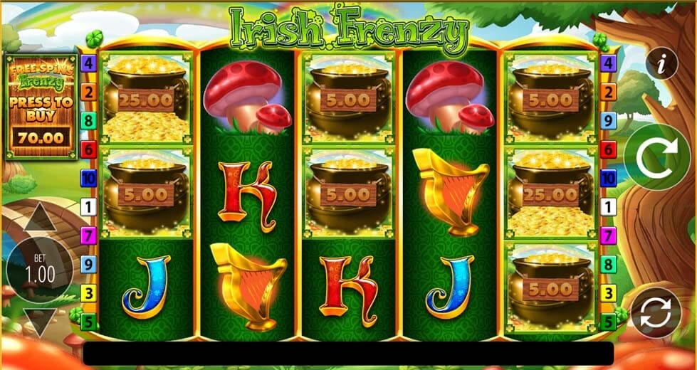 Irish Frenzy Slot Gameplay