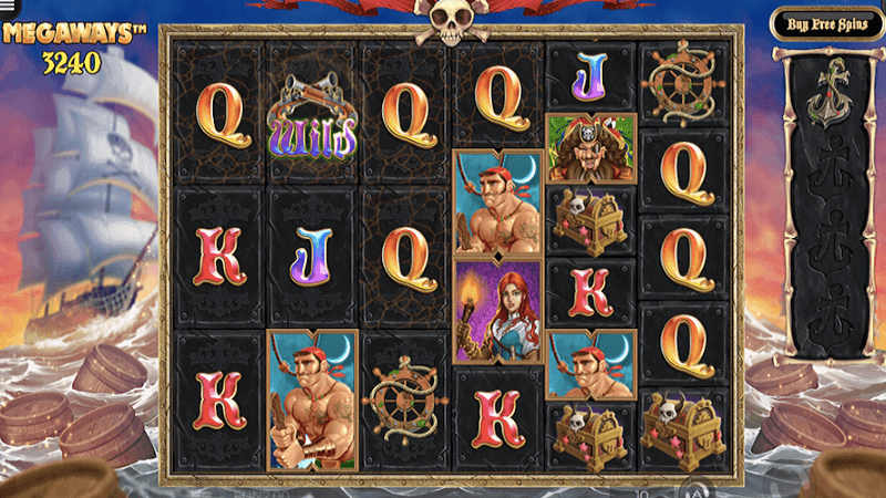 Pirate Kingdom MegaWays Casino Game Play