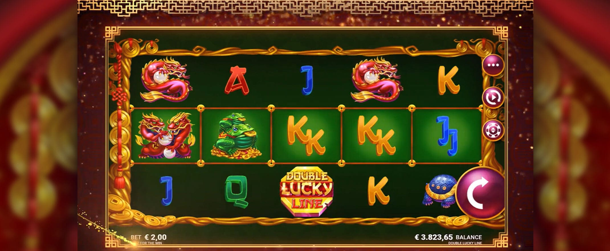 Double Lucky Line Casino Slot Game