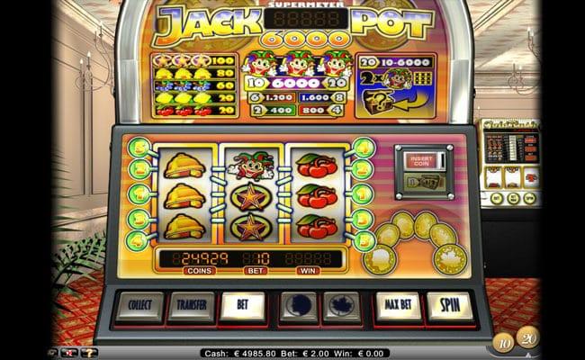 Jackpot 6000 Slot Bonus