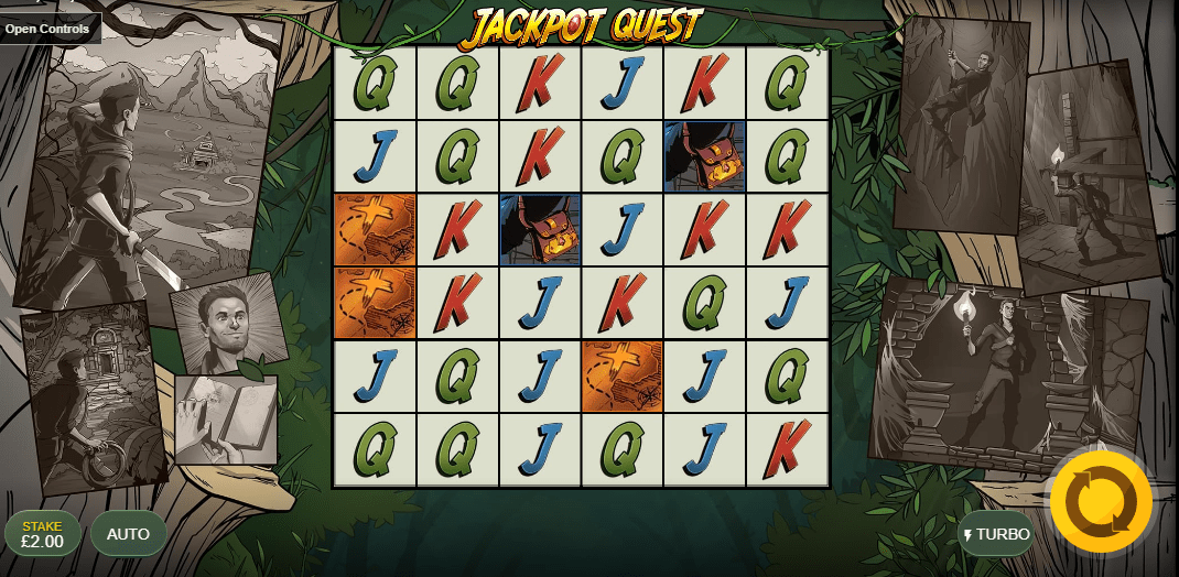 Jackpot Quest Casino Gameplay