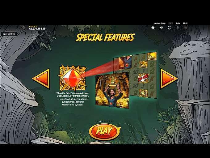 Jackpot Quest Slot Bonus