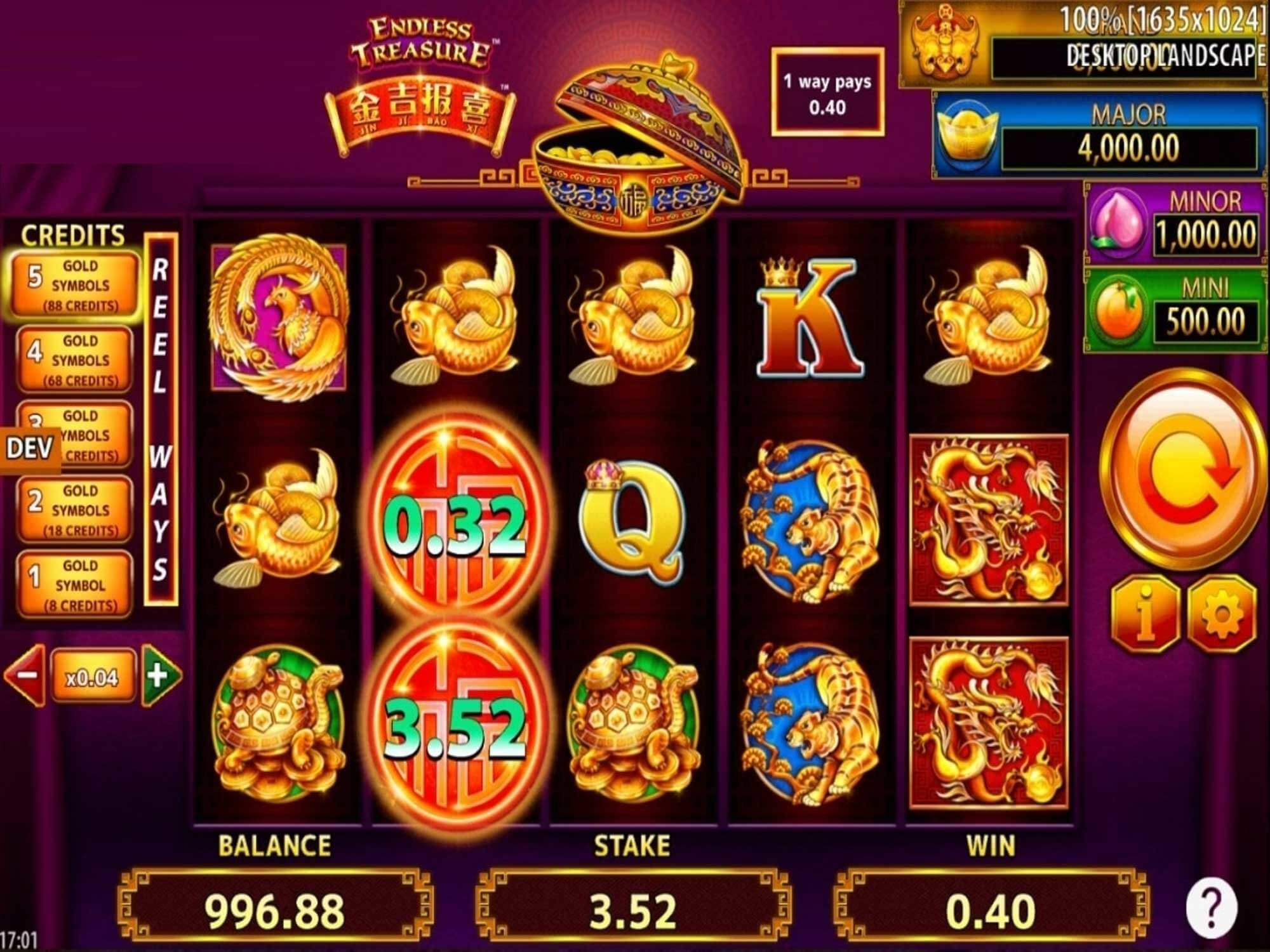 Jin Ji Bao Xi Endless Treasure Slot Gameplay
