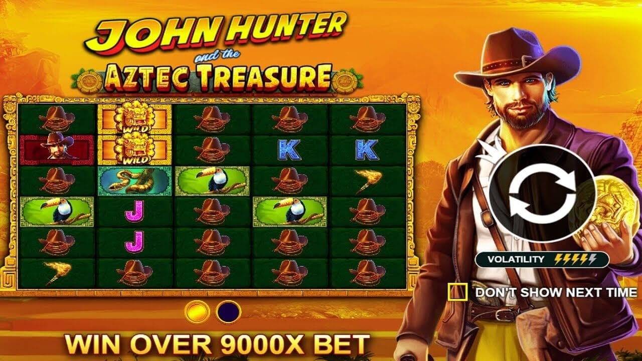 John Hunter and the Aztec Treasure Slot Bonus