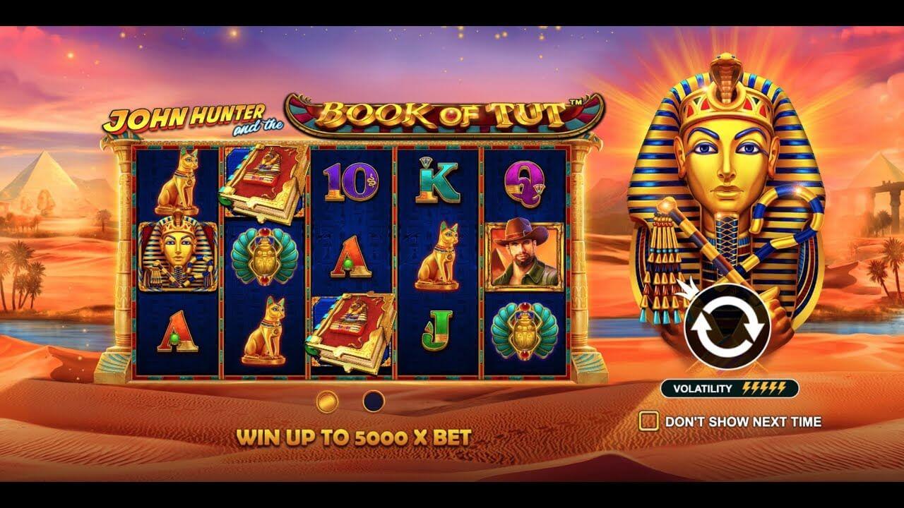 John Hunter and the Book of Tut Slot Bonus
