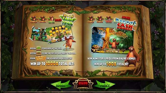 Jungle Jackpots Slot Bonus