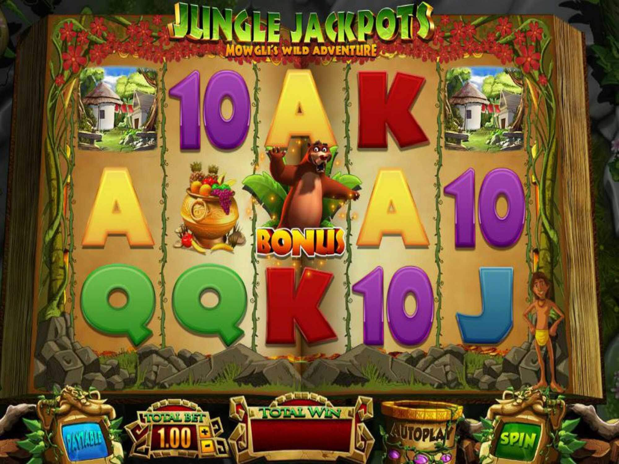 Jungle Jackpots Slot Gameplay