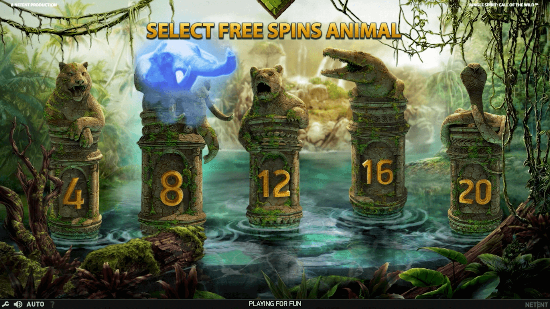 Jungle Spirit Call of the Wild Slot Bonus