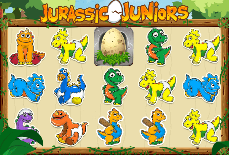 Jurassic Juniors Slot Gameplay