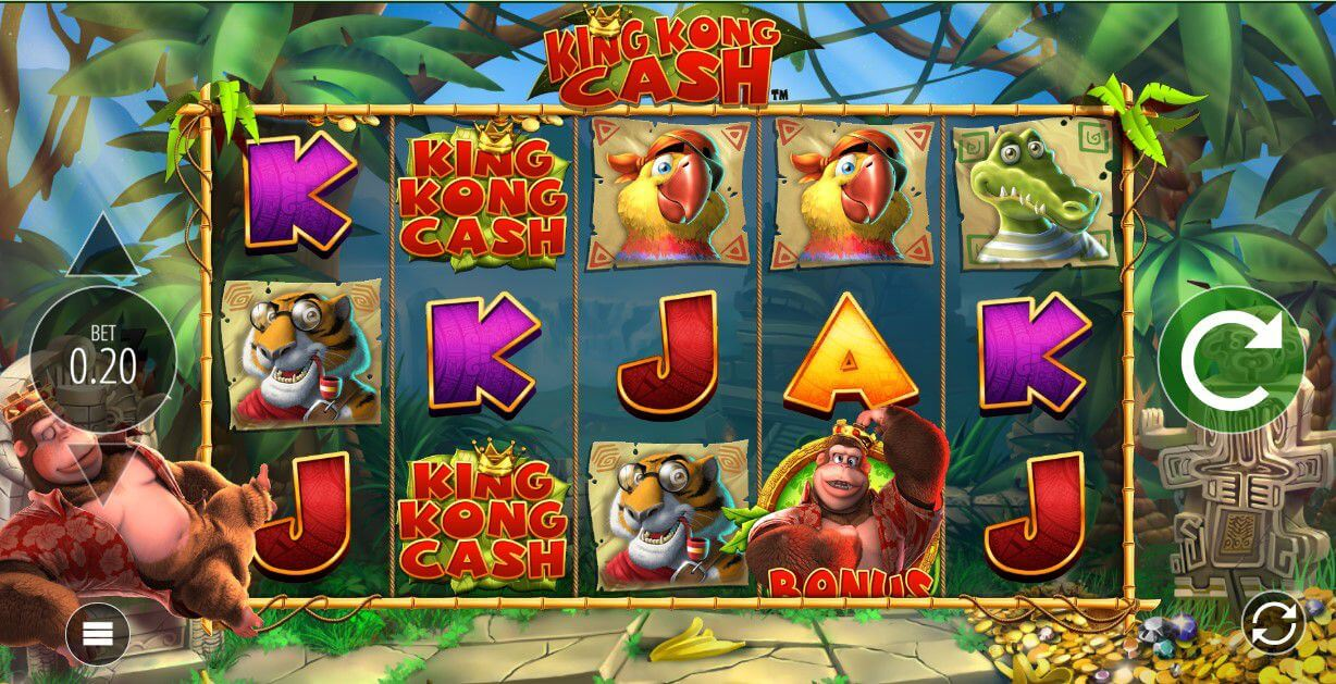King Kong Cash Slot Gameplay