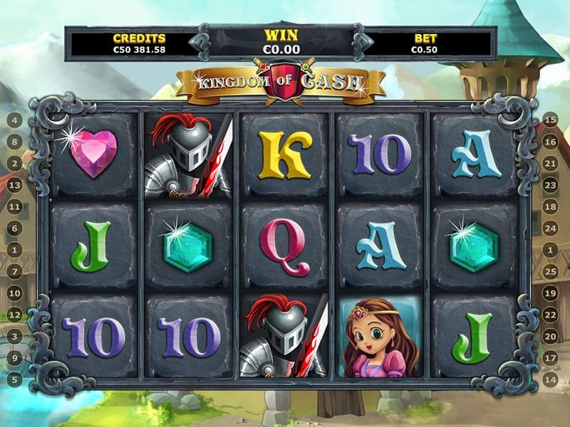Kingdom of Cash Slot Bonus
