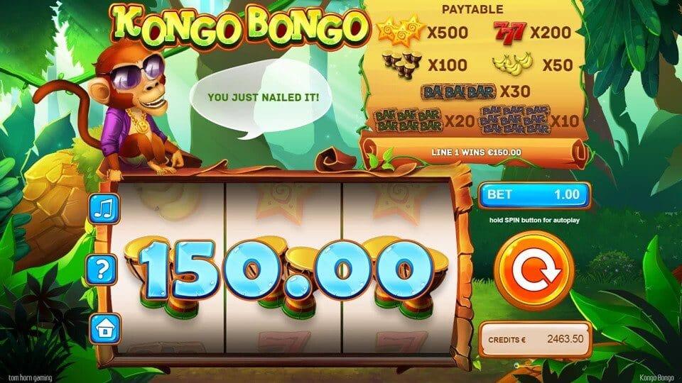 Kongo Bongo Slot Bonus