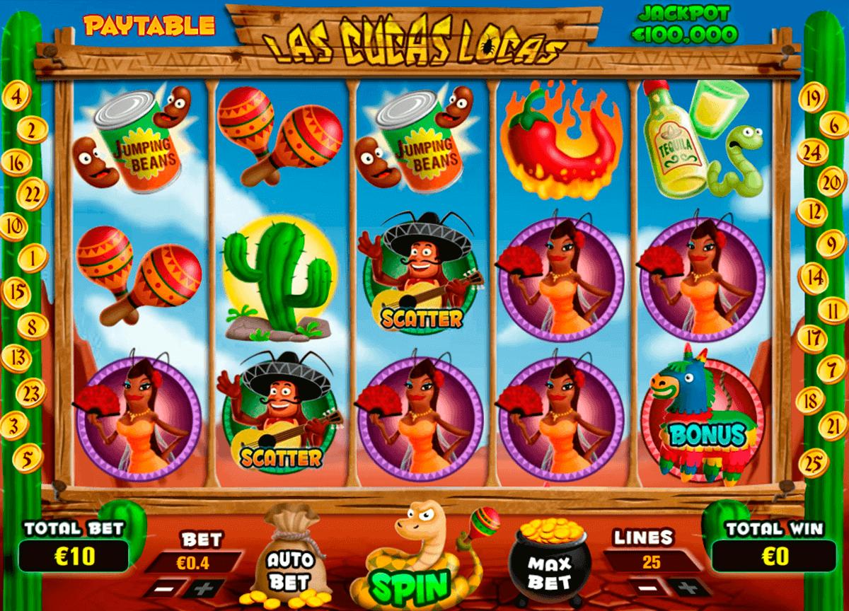 Las Cucas Locas Slot Gameplay