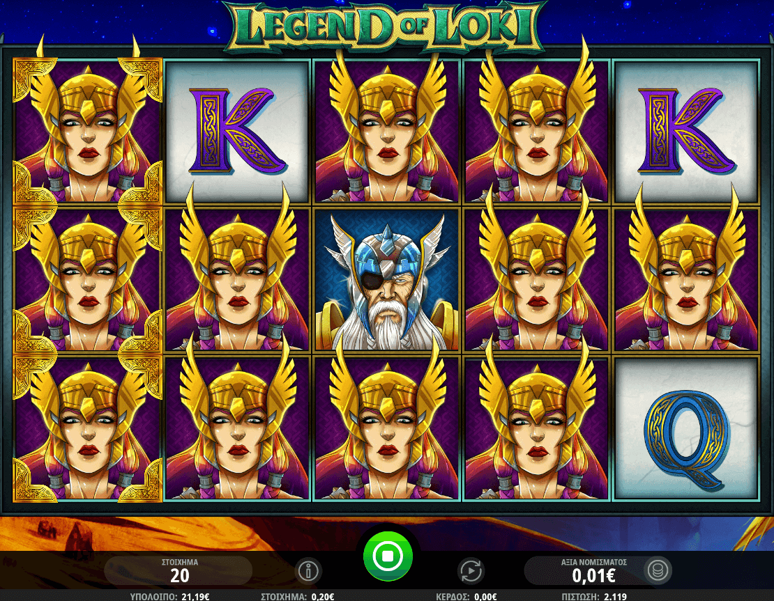 Legend of Loki Slot Bonus
