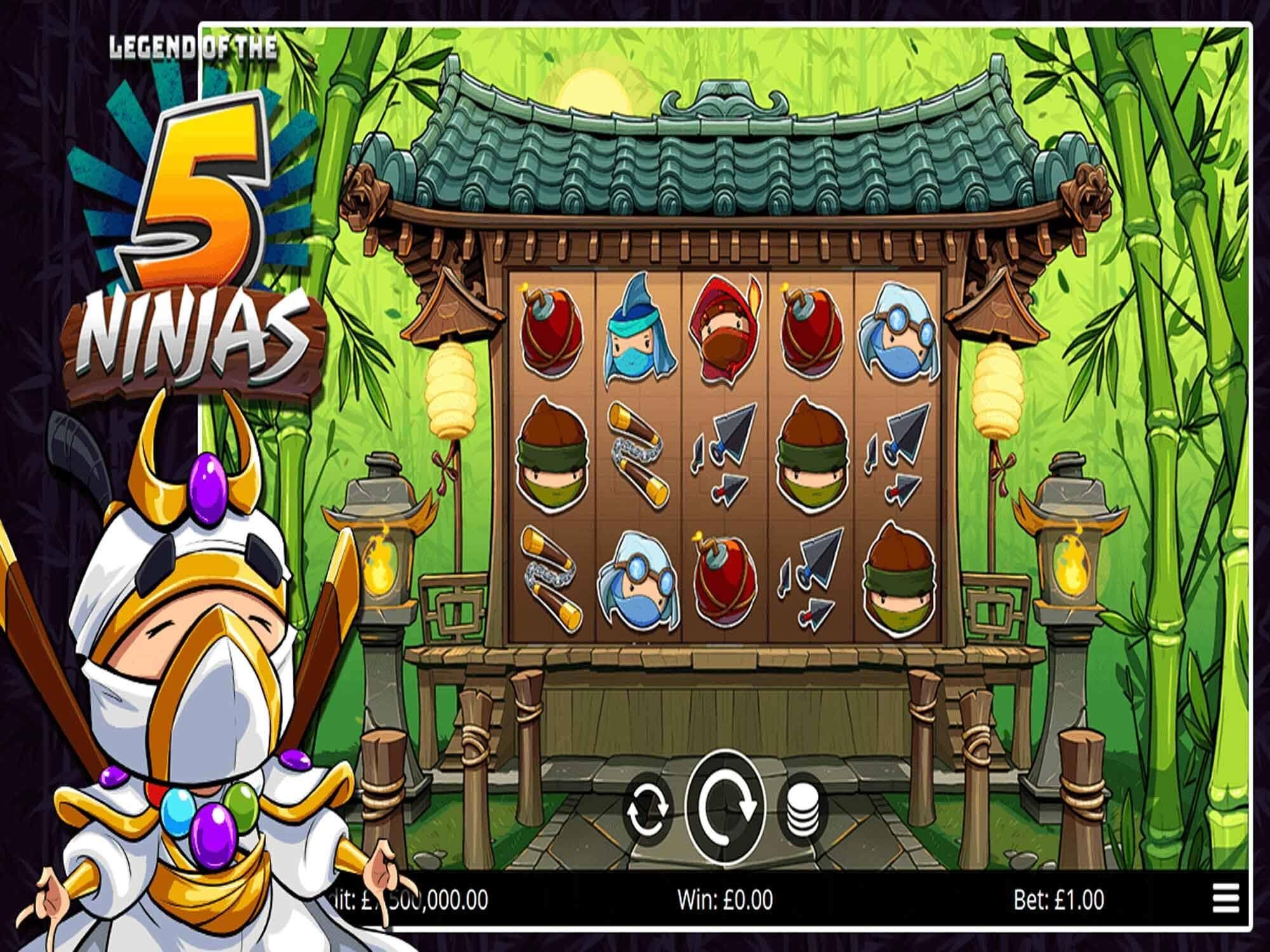 Legend of the 5 Ninjas Bonus