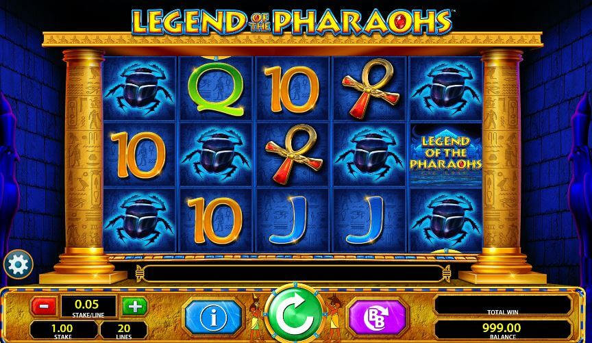 Legend of the Pharaohs Gameplay