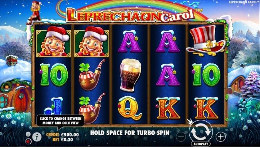 Leprechaun Carol Slot Gameplay