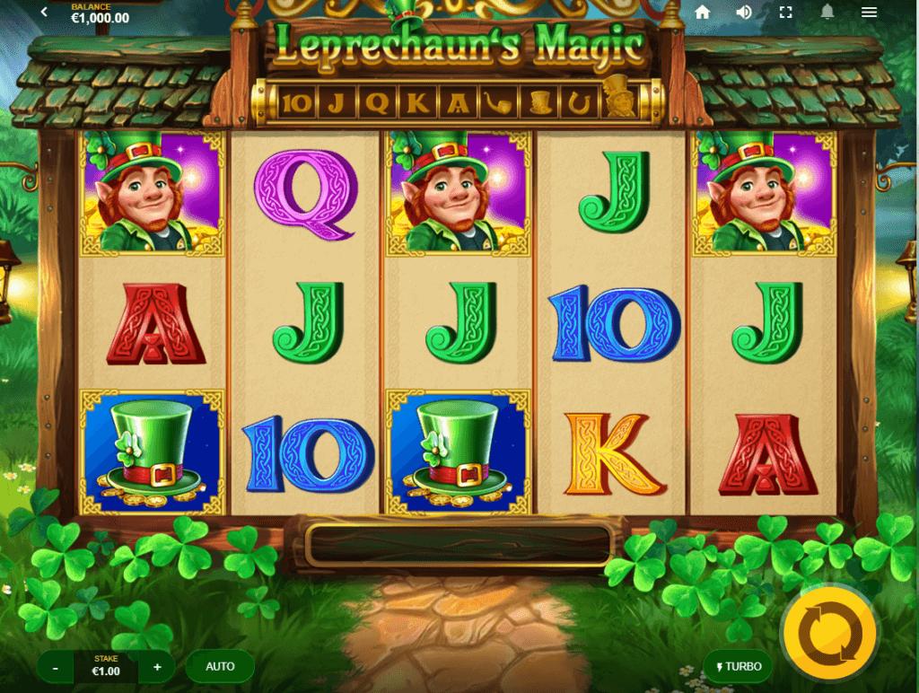 Leprechauns Magic Slot Bonus