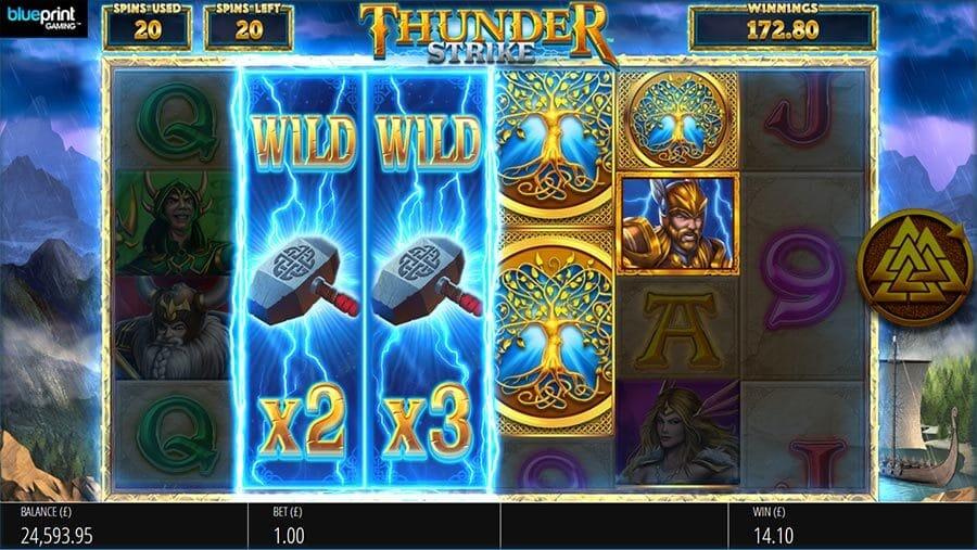 Lightning Strike Megaways Slot Bonus