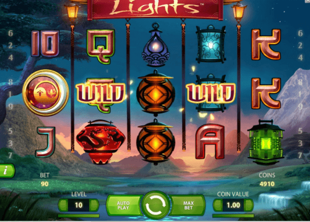 Lights Slot Gameplay