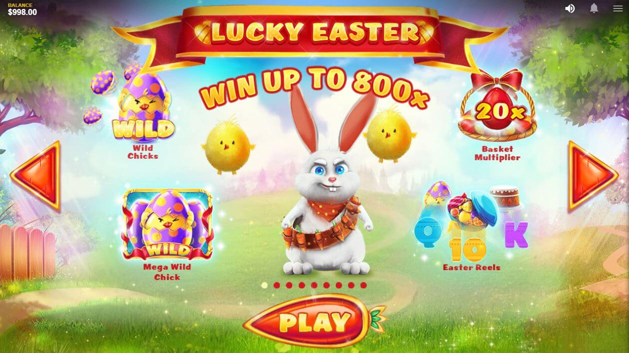 Lucky Easter Slot Bonus