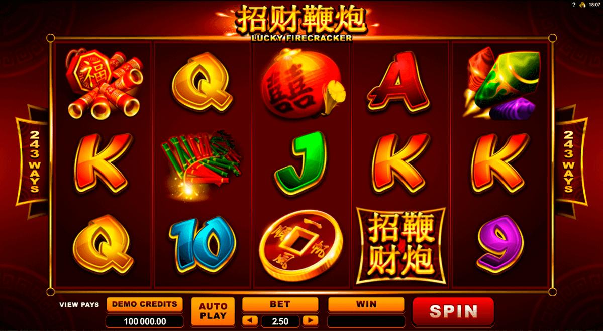 Lucky Firecracker  Slot Gameplay