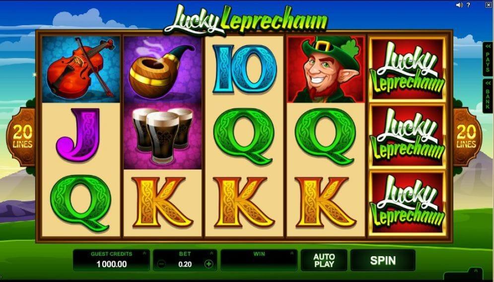 Lucky Leprechaun Slot Gameplay