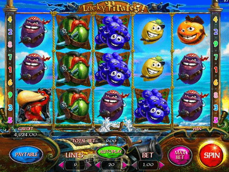 Lucky Pirates Slot Gameplay