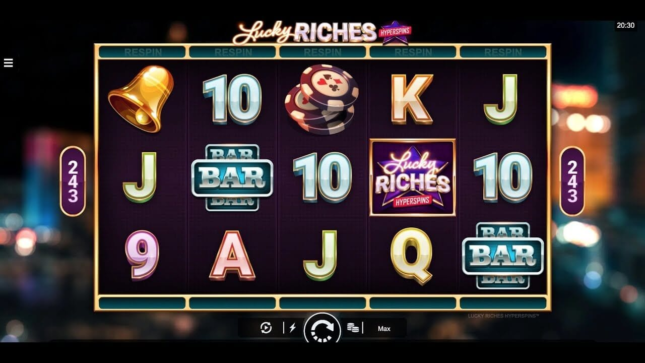 Lucky Riches Slot Gameplay