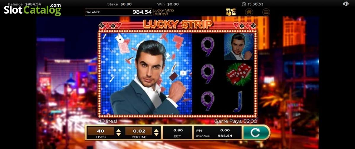 Lucky Strip Casino Gameplay
