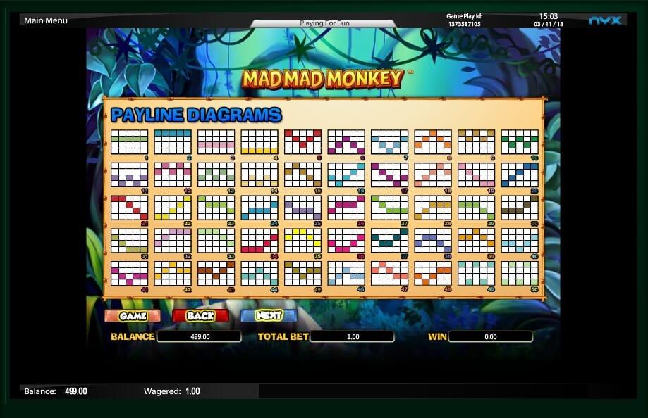 Mad Mad Monkey Slot Bonus