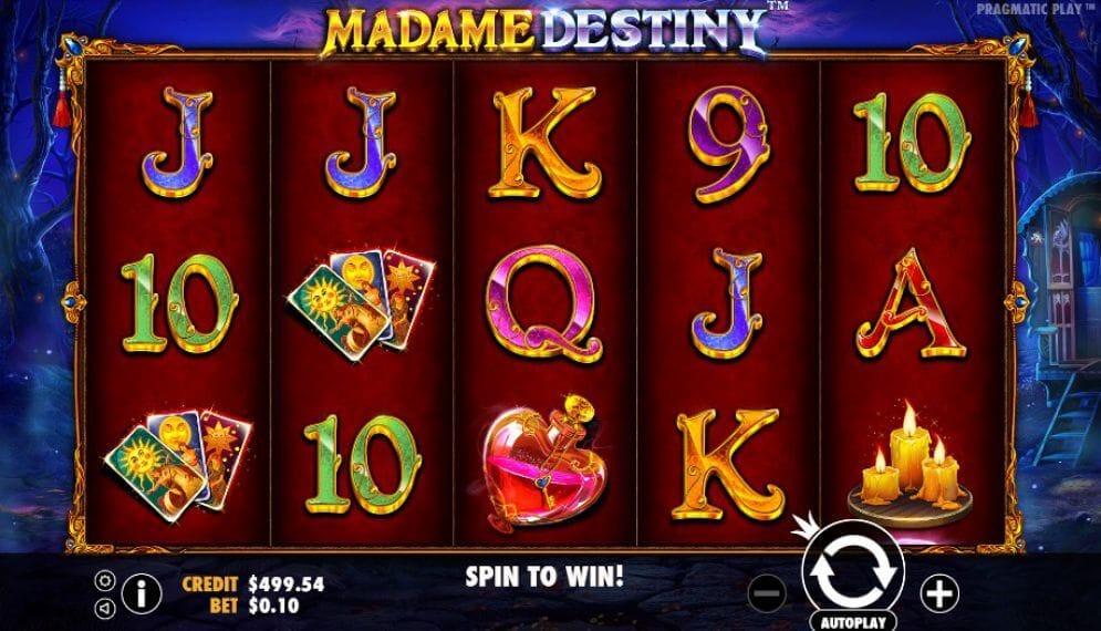 Madame Destiny Slot Gameplay