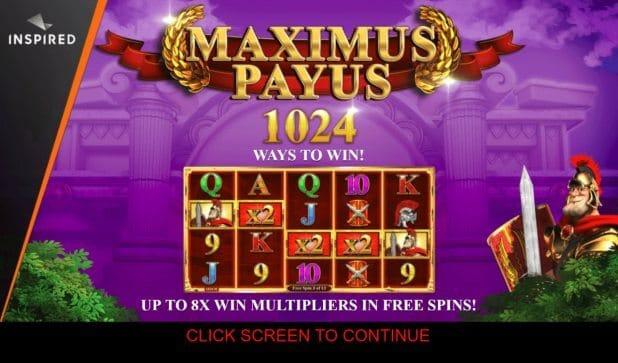 Maximus Payus Slot Gameplay