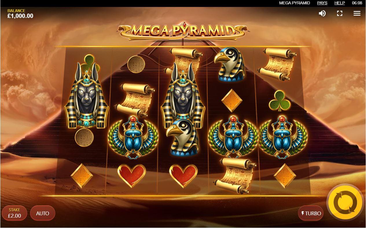 Mega Pyramid Slot Bonus
