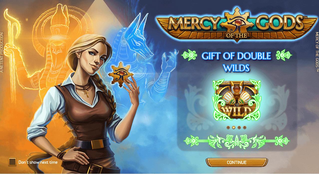 Mercy of the Gods Slot Bonus
