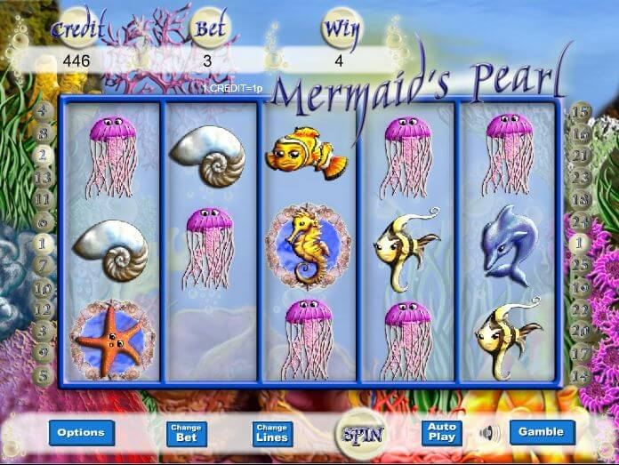 Mermaids Pearl Slot Gameplay